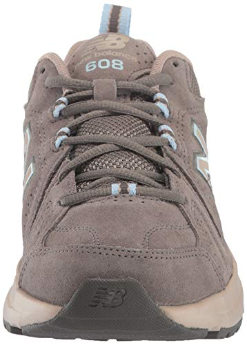 New Balance Women's 608 V5 Casual Comfort Cross Trainer, Bungee/Burlap, 10.5 M US