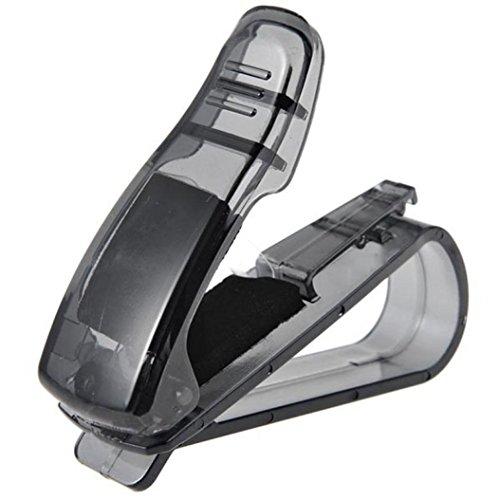 Price comparison product image POTO Car Sun Visor Glasses Sunglasses Ticket Receipt Card Clip Storage Holder