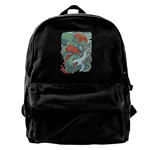 RobertJ.Rivera Unisex Womans Men's Dirty Heads Canvas Safe Weekend Young Idol Daypack Black