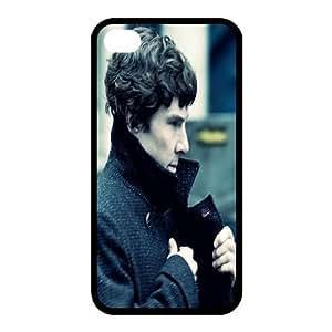 Sherlock Diy Iphone 4/4s hard Case,customized case UN072031 WANGJING JINDA