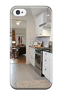 Ultra Slim Fit Hard AllenJGrant Case Cover Specially Made For Iphone 4/4s- Kitchen With Banquette And Storage