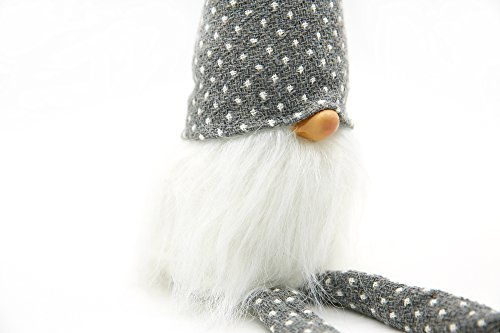 ITOMTE Handmade Swedish Tomte Refrigerator Door Handle Cover Gift Idea Home Door Cloth Protector Mini Gnome Kitchen Appliance Handle Covers for Easter Day Decoration