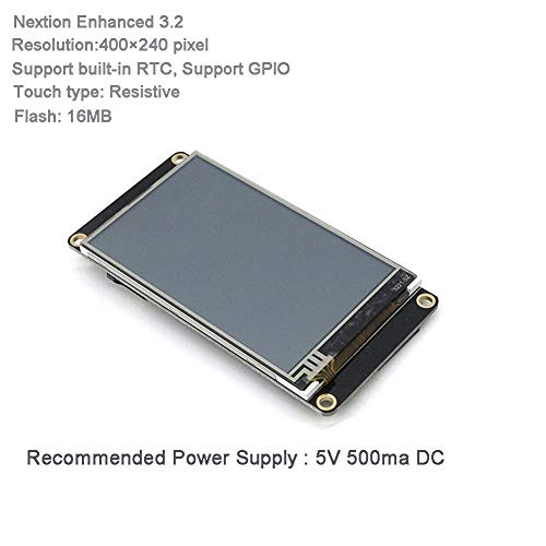 Nextion Enhanced 3 2 inch HMI Touch Display LCD Module with Acrylic Clear  Case for Arduino Raspberry Pi