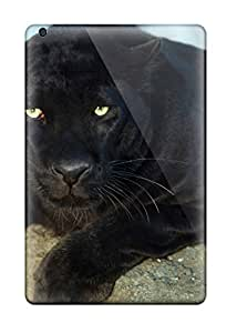 Hot UDQgzDv1037TUPgO Case Cover Protector For Ipad Mini/mini 2- Black Leopard Wallpaper