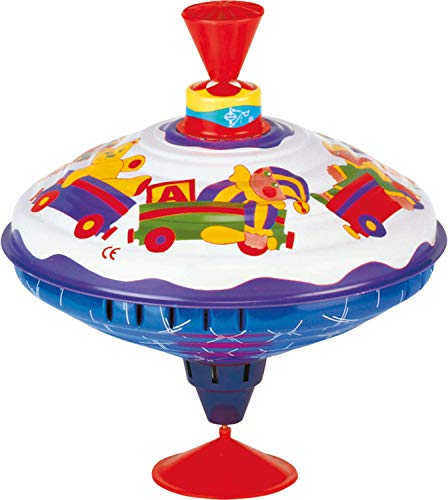 Bolz Playbox Music Spinning Top Toy for Children, The Funny Buzzing Hum Gets Louder As The Top Spins Faster, So Durable -