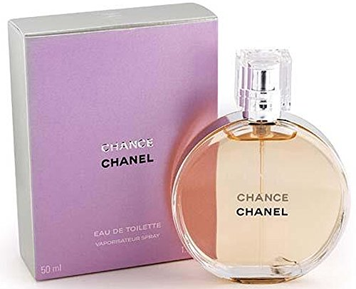 Chance Chânel Eau De Toilette Spray for Woman, EDT 1.7 Ounces 50 ML -