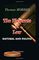 The Elements of Law, Natural and Politic