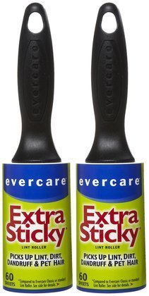 Evercare Professional Lint Pic-Up Roller, 60 ct-2 ct (Quantity of 4) by Evercare