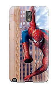 CharlesRaymondBaylor SyVKOEG12257lUTnM Protective Case For Galaxy Note 3(spiderman Webslinging)