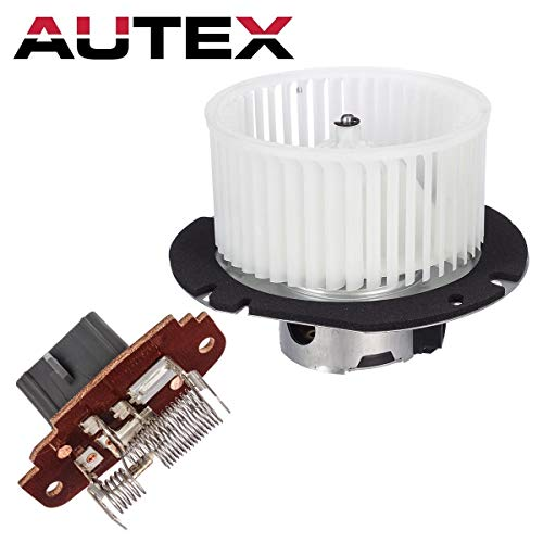 AUTEX Heater Blower Motor Resistor Assembly Compatible with Ford Explorer 95-01,Ford Explorer Sport Trac 01-05 Replacement for Mercury Mountaineer 98-01,Ford Ranger 98-11 Blower Motor