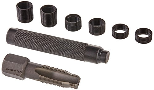 CTA Tools 98141 Pro-Thread 14mm Spark Plug Repair Kit, Tapered Seat
