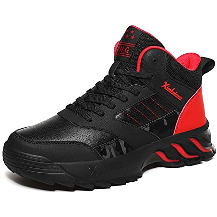 MEI NIAN GUAN Mens Running Shoes Trainers Sports Gym Walking Jogging Athletic Fitness Outdoor Sneakers