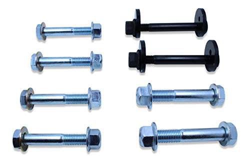 Spohn D94-99-CAM-980-981 Complete Front Control Arms Cam Bolts & Hardware Kit for 1994-1999 Dodge Ram 1500, 2500, 3500 ()