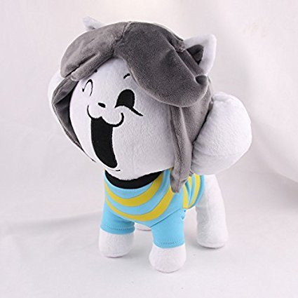 New Arrival Undertale Temmie Plush Soft Toy Doll For Kids Gift-Nueva Llegada Undertale Temmie Suave De La Felpa Muñeca De Juguete Para Niños Regalo: ...