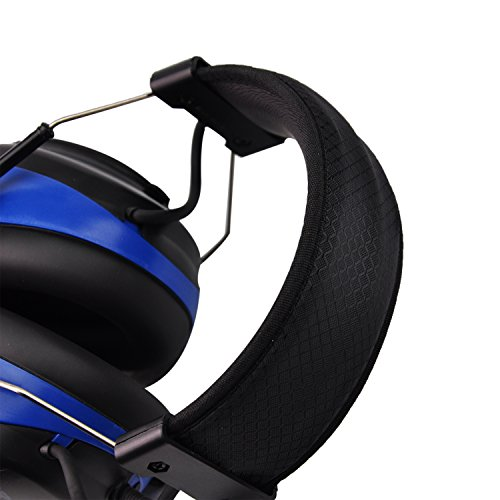Bluetooth & Radio AM/FM Hearing Protection Safety Earmuffs, Noise Reduction NRR 25dB Headphones with Digital Display-Ear Protector for Mowing Lawn, with Replacement Foams by PROTEAR (Image #4)