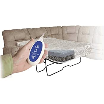 air dream ultra aircoil sofa bed mattress with integrated air controls size full