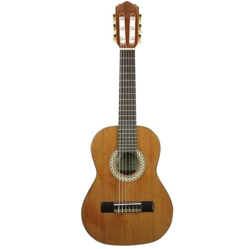 Guitar Solid Indian Classical Rosewood - Kremona Soloist S44C 1/4 Scale Classical Acoustic Guitar, 19 Frets, Solid Red Cedar Top, Laminated Sapele Back and Sides, Indian Rosewood Fingerboard, Gloss