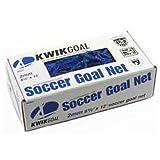 Kwik Goal Junior - Red de fútbol recreativo (1,8 m de Alto x 3,6 m de Ancho x 0,6 m de Profundidad), Color Azul