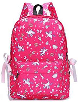 New Bagpack Cute Backpack Women Mochila Nylon 3D Cartoon Print Back Pack School Bag for Girls Bookbag Travel Bagpacks