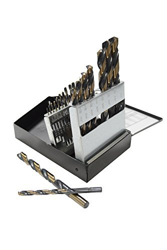 21 Piece HSS Drill Bit Set (USA Industrial Index) ()
