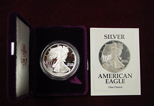 - 1991 S Silver Eagle Proof