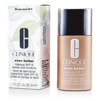 Clinique Powder Cream (Clinique Even Better Makeup SPF15 (Dry Combination to Combination Oily) - No. 04 Cream Chamois 6MNY-04 30ml/1oz)