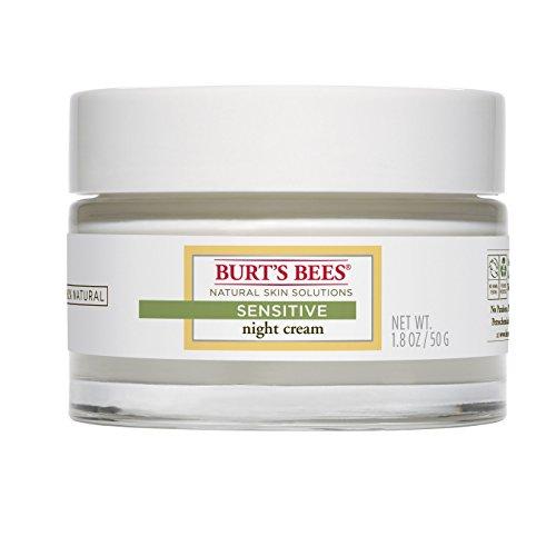 Les abeilles de Burt sensible de crème de nuit, 1,8 Onces