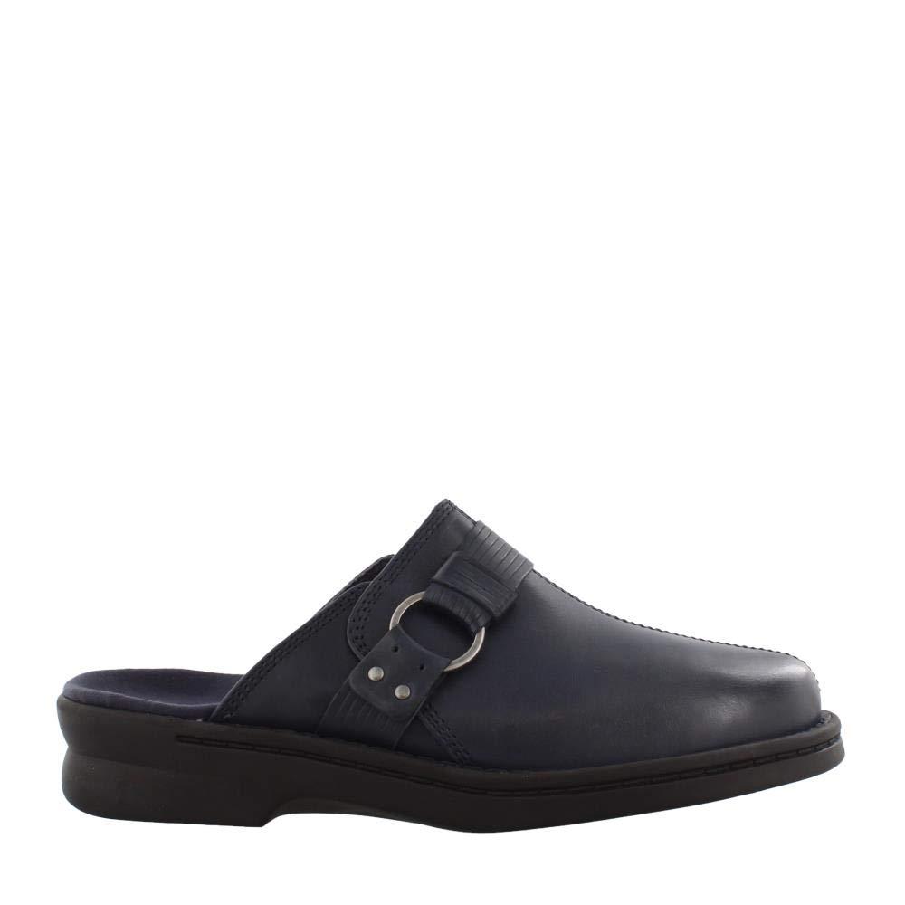 Navy Clarks Womens Patty Lorene Clog shoes