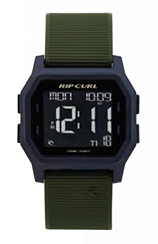 ' Quartz Plastic and Silicone Sport Watch, Color:Green (Model: A2701-MIL) ()