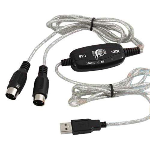 147 opinioni per DIGIFLEX Adattatore cavo Midi USB per tastiera musicale a PC, portatile, XP,