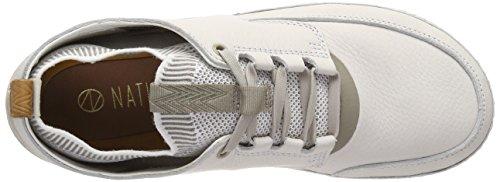 Clarks Herre Natur Iv Sneaker Weiß (hvid Combi) yR2NQ