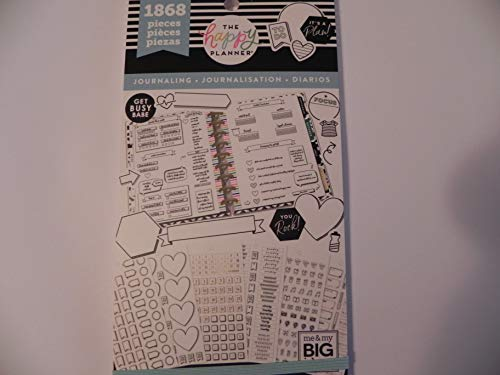 Me & My Big Ideas MAMPPSV-92.3048 Sticker Value Pack Journal - Journaling Sticker Book