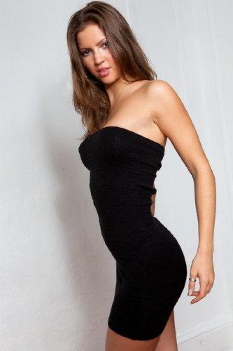 Mini robe sexy Tube Top intime par KD danse New York Cosy, unique et tendance de haute qualité fabriqué en USA -  vert - XL