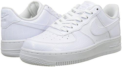 white Ginnastica Essential Bianco Nike white 1 Scarpe Air Force 100 white Da '07 Basse Donna T7aqpC4w