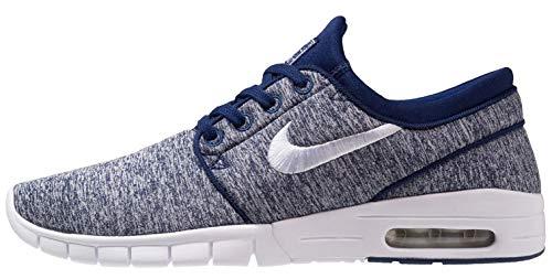 294e01de340bc Galleon - Nike Men's Stefan Janoski Max Skateboarding Shoe (Blue ...