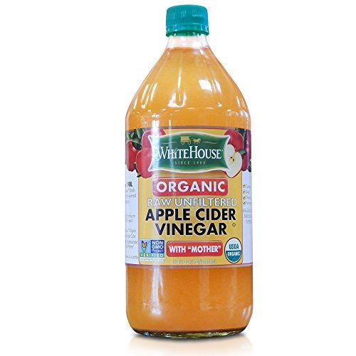 - White House Raw Organic Apple Cider Vinegar - Unfiltered with the Mother - 32oz