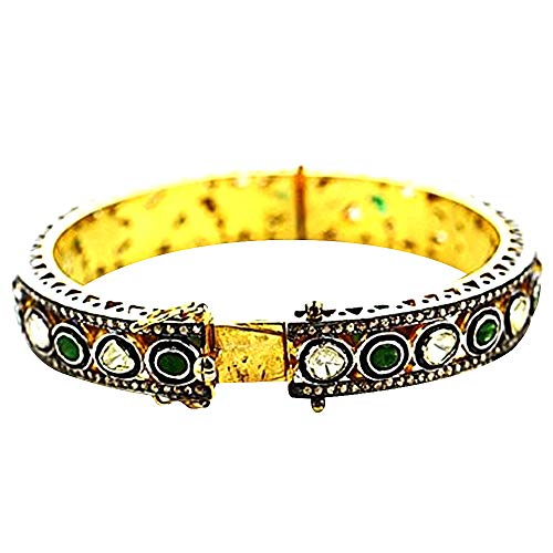 - Select Your Victorian Estate Jewelry Diamond Bangle Bracelet Exclusively by GemMartUSA (DR-12173)
