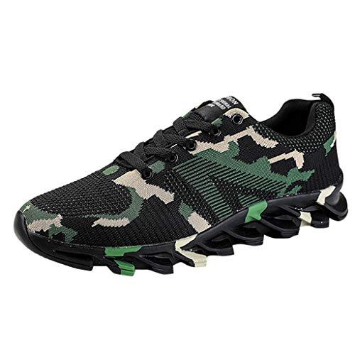 - OrchidAmor Fashion Men's Leisure Camouflage Running Shoes Non-Slip Breathable Light Sneaker