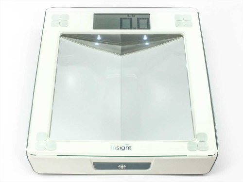 UPC 787125975344, Insight 1380 Digital Bathroom Scale for Diabetic Foot Care, 2 in 1 design, up to 400 Lb Capacity