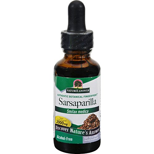 Nature's Answer Alcohol-Free Sarsaparilla Root, 1-Fluid Ounce Review