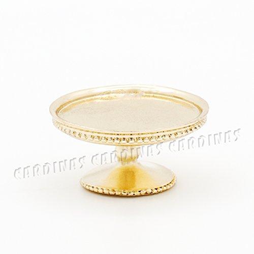 gold cake tray - 9