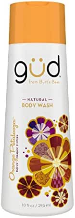 Gud Orange Petalooza Natural Body Wash, 10 Fluid Ounce
