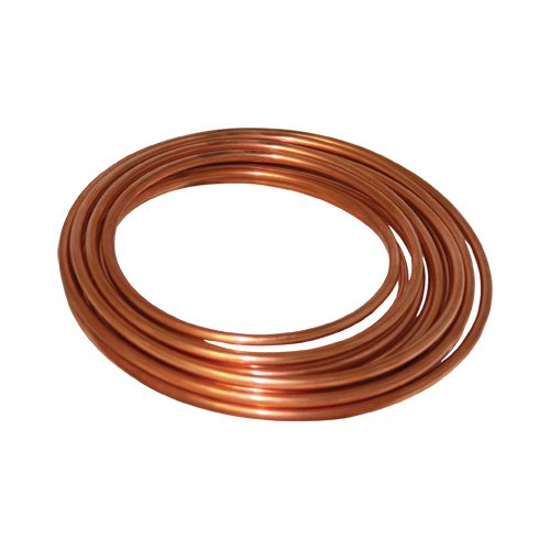 Mueller Industries LS03060 COPPER TUBING, TYPE L, SOFT, 3/8 IN. ID X 60 FT, 60' (Soft Tubing 1/2')