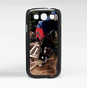 Dirt Biking and Mud Motorcross Sports Hard Snap on Phone Case (Galaxy s3 III)