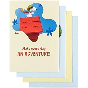 amazon com peanuts birthday inspirational boxed cards office
