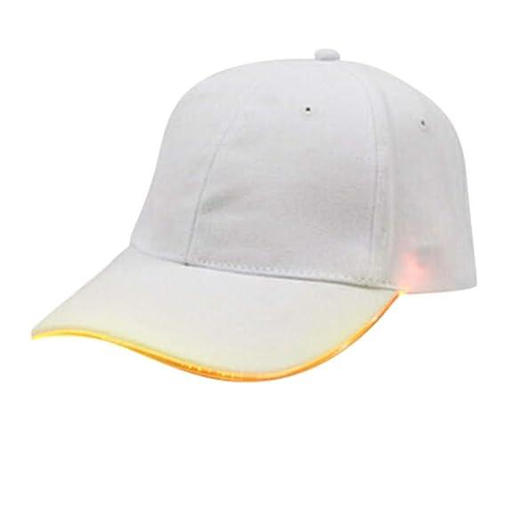 Elecenty Moda LED Gorras de béisbol para Hombre y Mujer Party ...