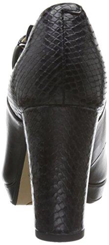 Scarpe T Black Kendra Donna con Tacco Cinturino Gaby a Nero Leather col Clarks x6EA8q8