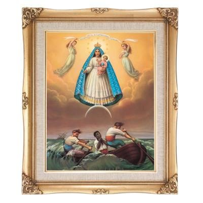 Our Lady of Charity Framed Art by Discount Catholic Store