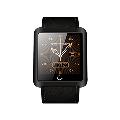 Bebone U10L Upgraded Smart Wrist Watch Phone Mate Bluetooth For iPhone IOS Android (Black)