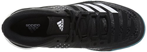 pick a best online clearance manchester great sale adidas Performance Women's Crazyflight X W Volleyball-Shoes Black/White/Light Solid Grey py8HlEydz